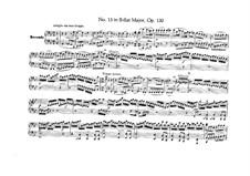 Струнный квартет No.13 си-бемоль мажор, Op.130: Версия для фортепиано в четыре руки by Людвиг ван Бетховен