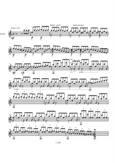 Toccata from Little Suite for classical guitar: Toccata from Little Suite for classical guitar by Andrei Krylov