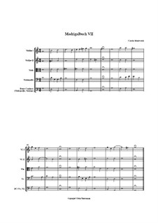 Book 7 (Concerto), SV 117–145: Sinfonia No.1 by Клаудио Монтеверди