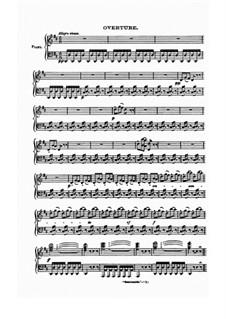 Семирамида: Увертюра и Акт I, для голосов и фортепиано by Джоаккино Россини