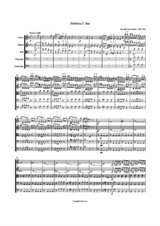 Sinfonia in C major: Sinfonia in C major by Франц Ксавер Рихтер