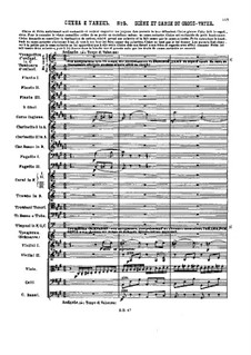 No.5 Сцена и танец Гросфатер: Партитура by Петр Чайковский