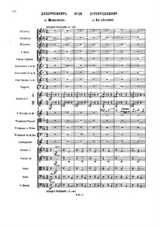 No.12 Дивертисмент: Партитура by Петр Чайковский