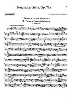 Все части: Партии виолончелей by Петр Чайковский