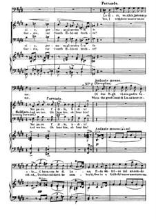 Фрагменты: Акт I, No.2, для голосов и фортепиано by Джузеппе Верди