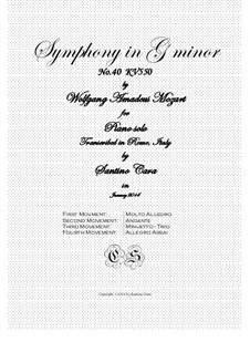 Все части: Переложение для фортепиано by Вольфганг Амадей Моцарт