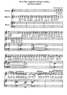 Фрагменты: Акт II, No.11, для голосов и фортепиано by Джузеппе Верди