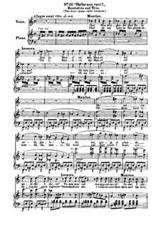 Фрагменты: Акт IV, No.22, для голосов и фортепиано by Джузеппе Верди