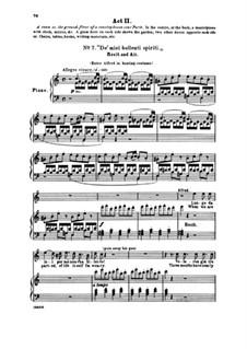 Фрагменты: Акт II No.7 De' miei bollenti spiriti, для голосов и фортепиано by Джузеппе Верди