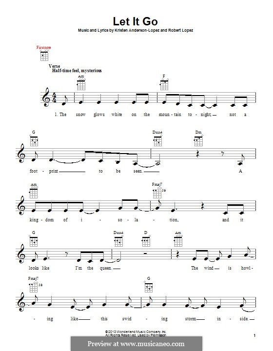 Instrumental version: Для укулеле by Robert Lopez, Kristen Anderson-Lopez