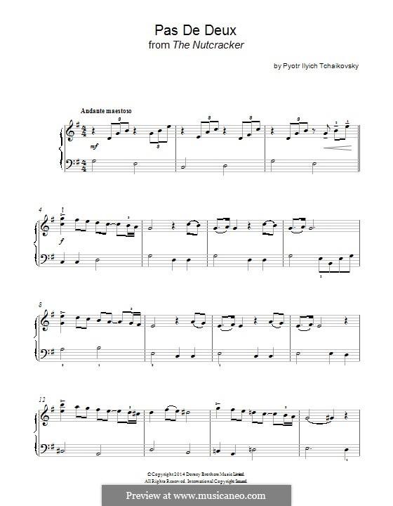 No.5 Па-де-де: Для фортепиано by Петр Чайковский