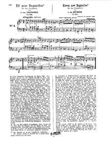 Одиннадцать новых багателей для фортепиано, Op.119: Весь сборник (под редакцией Г. Бюлова) by Людвиг ван Бетховен