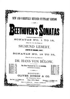 Соната для фортепиано No.22, Op.54: Для одного исполнителя by Людвиг ван Бетховен