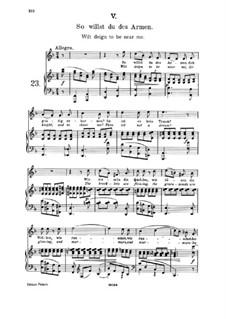 Пятнадцать романсов, Op.33: No.5 Wilt Deign to Be Near Me by Иоганнес Брамс