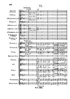 Немецкий реквием, Op.45: Часть VI by Иоганнес Брамс