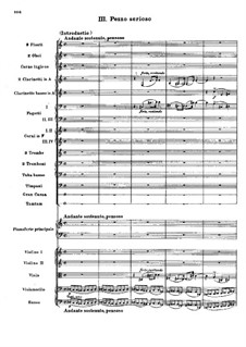 Концерт для фортепиано с оркестром до мажор, BV 247 Op.39: Часть III by Ферруччо Бузони