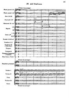 Концерт для фортепиано с оркестром до мажор, BV 247 Op.39: Часть IV by Ферруччо Бузони