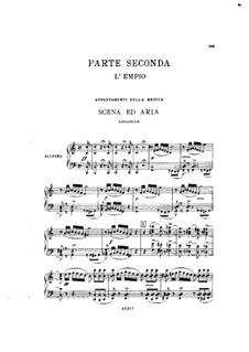 Фрагменты: Акт II No.1, для солистов, хора и фортепиано by Джузеппе Верди
