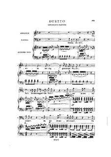 Фрагменты: Акт III No.3, для солистов, хора и фортепиано by Джузеппе Верди