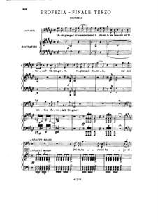 Фрагменты: Акт III No.5, для солистов, хора и фортепиано by Джузеппе Верди