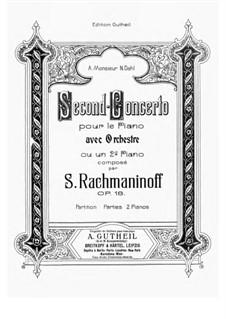 Рахманинов концерт 2 для фортепиано с оркестром скачать ноты.