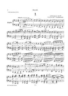 Симфония No.6 до минор, Op.58: Для фортепиано в четыре руки by Александр Глазунов