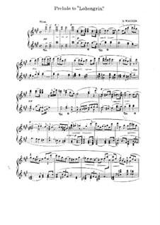 Фрагменты: Вступление к Акту I, для фортепиано by Рихард Вагнер