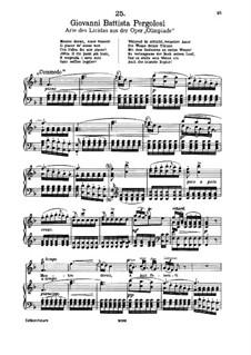 Mentre dormi, amor fomenti (Soprano): Mentre dormi, amor fomenti (Soprano) by Джованни Баттиста Перголези
