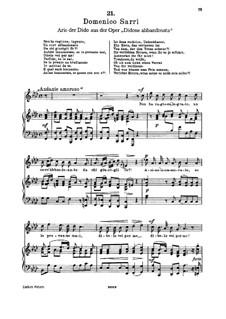 Non ha ragione, ingrato (Soprano): Non ha ragione, ingrato (Soprano) by Domenico Sarro