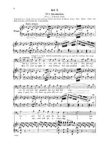 Notte e giorno faticar: For bass and piano by Вольфганг Амадей Моцарт