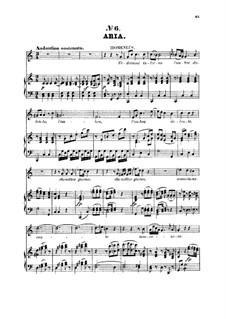 Он станет за мною следовать тенью: Для тенора и фортепиано by Вольфганг Амадей Моцарт