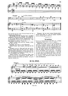 Каждый момент наслаждаться: For tenor and piano by Вольфганг Амадей Моцарт