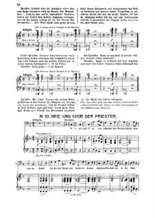 O, Исида и Осирис: Для баса и фортепиано by Вольфганг Амадей Моцарт