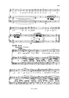 Ah, lo veggio quell'anima bella: For tenor and piano by Вольфганг Амадей Моцарт