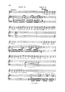 In qual fiero contrasto... Tradito, schernito: For tenor and piano by Вольфганг Амадей Моцарт
