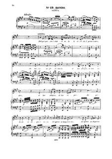 Deh, per questo istante solo: For mezzo and piano by Вольфганг Амадей Моцарт