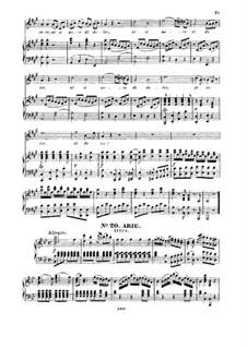 Se all' impero, amici Dei!: For tenor and piano by Вольфганг Амадей Моцарт