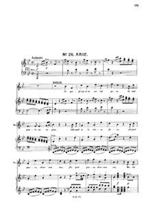 In quegli anni: For tenor and piano by Вольфганг Амадей Моцарт