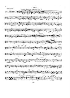 Квартет для флейты и струнных No.1 до минор, Op.86: Партия альта by Бенуа Транкиль Бербигье