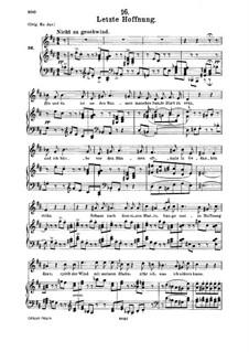 No.16 Последняя надежда: Для среднего голоса и фортепиано by Франц Шуберт