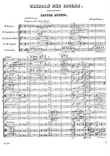 Фрагменты: Вступление к первому акту by Рихард Вагнер