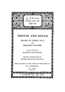 Фрагменты: Акт I, для голосов и фортепиано by Рихард Вагнер
