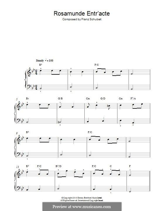 Квинтет для струнных и фортепиано 'Форель', D.667 Op.114: Часть IV (Тема). Версия для фортепиано by Франц Шуберт