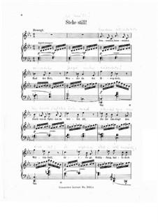 Пять песен на стихи Матильды Везендонк, WWV 91: No.2 Стой by Рихард Вагнер