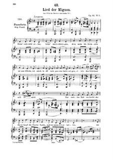 No.2 Песнь Миньоны: Ре минор by Франц Шуберт