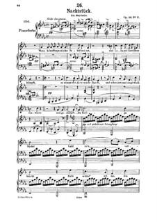 Ноктюрн, D.672 Op.36 No.2: Для среднего голоса и фортепиано by Франц Шуберт