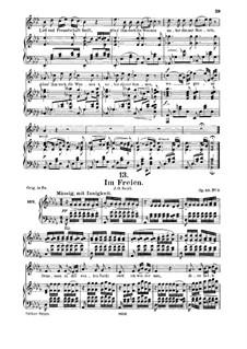 Im Freien (In the Open), D.880 Op.80 No.3: Для среднего голоса и фортепиано by Франц Шуберт