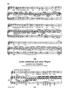 Клаудина фон Вилла Белла, D.239: No.6 Arietta, for high voice and piano by Франц Шуберт