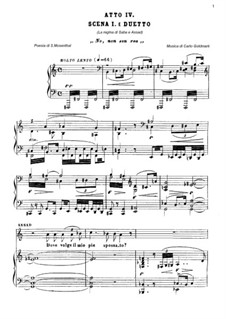 Царица Савская, Op.27: No non son rea... Duetto La Regina di Saba e Assad by Карл Голдмарк
