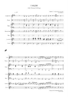 Гандзя: Гандзя, Op.182 by folklore